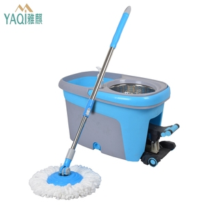 Wholesale high quality quick dry microfiber new easy clean magic 360 mop bucket foot pedal