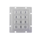 Latest 12 keys backlight keypad metal numeric keypad 3x4