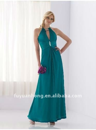 Halter keyhole diamond waist ladies casual dresses picturesFYH-PQ08