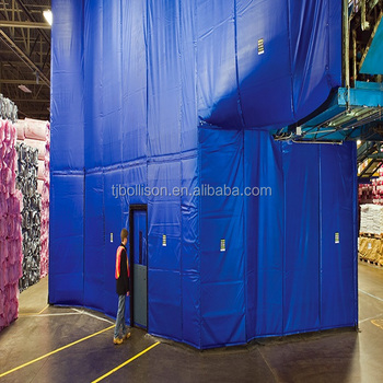 Warehouse Warm Resistant Insulated Workshop Curtain Walls