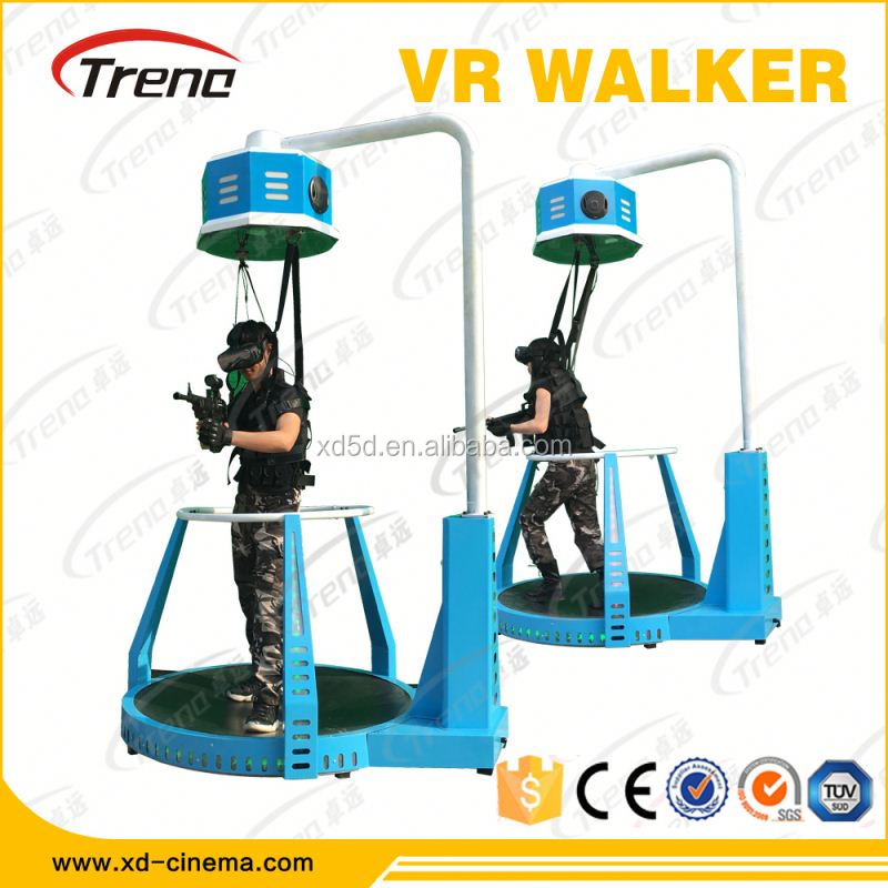 3d gun shooting games machine vr interactive Walker 9d simulator