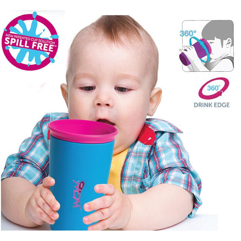 Детские дети безопасной питьевой кубок герметичные научиться магии научиться пить чашку разливов бесплатная