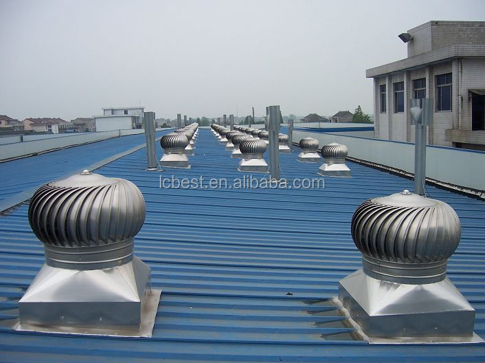 300mm Industrial Turbine Roof Adjustable Air Extractor