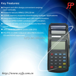new 8110 gprs pos terminal with thermal printer payment machine for magnetic IC card reader