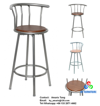 Admirable Haiyang Cheap Wood Metal Barstools Breakfast Kitchen Swivel Bar Stools Supplier Buy Cheap Metal Bar Stools Barstools Bar Stools Supplier Product On Cjindustries Chair Design For Home Cjindustriesco