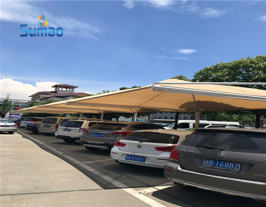 Durable outdoor for winds awnings solar for cars