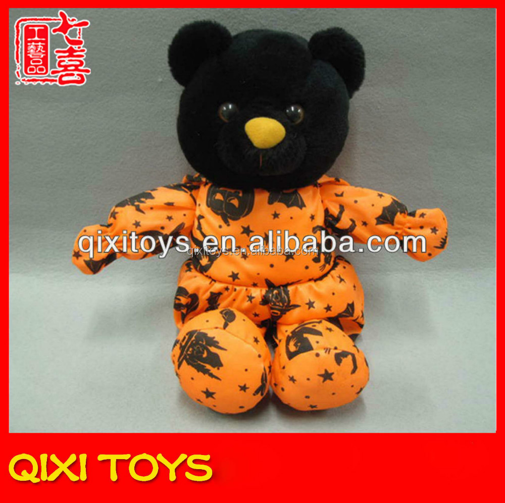 Halloween novelty plush teddy bear halloween teddy bear