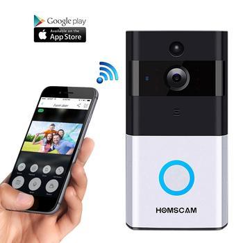 08668ca238212 Homscam Wifi Smart Ring Doorbell Video Doorbell Smart Doorbell Onvif Wifi  Ip Doorbell Camera Doorbell Wireless Battery Doorbell - Buy Wireless Video  ...