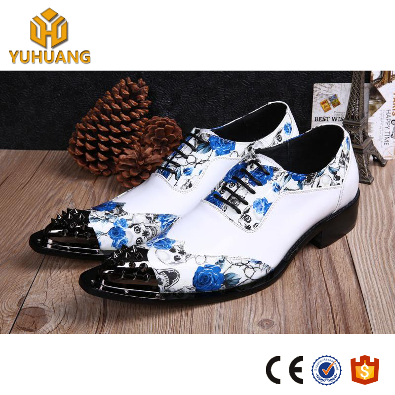 British increased wedding white pointed leisure hair men's leather shoes shoes stylist shoes Spring HqxgUwSYx