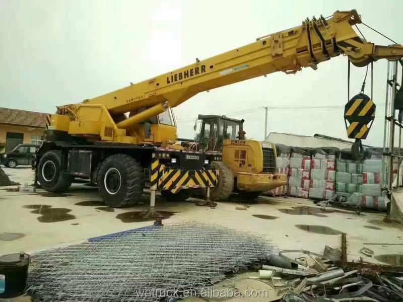LIEBHERR Used All Terrain Crane 50ton