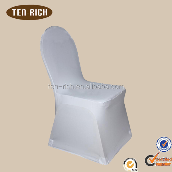 Promation price USD0.85 white chair covers