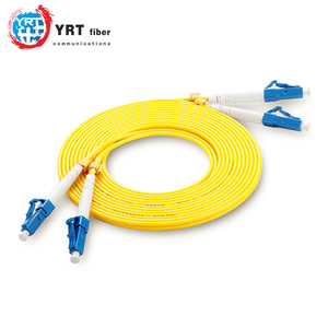 Top quality single mode and multimode fiber patch cables