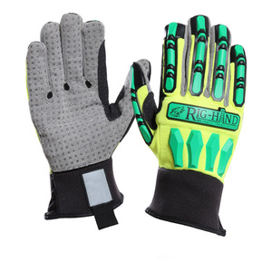 Custom mechanics tpr shipping drilling oil industry labor protection gloves shockproof mittens