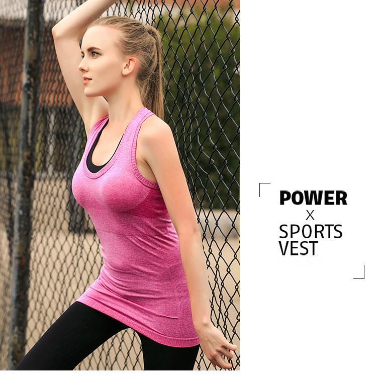 Womens Workout Tanktop Sport Top Gym Yoga S M L XL XXL 4