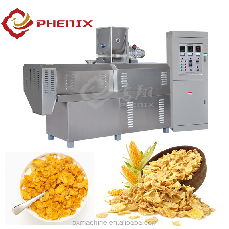 Factory price kelloggs toasted corn flakes machine