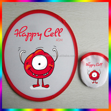 Wholesale fashion promotional nylon foldable frisbee