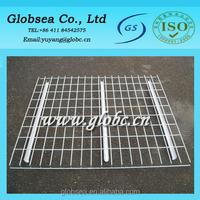 Mild steel wire mesh decking panels for Pallet Rack