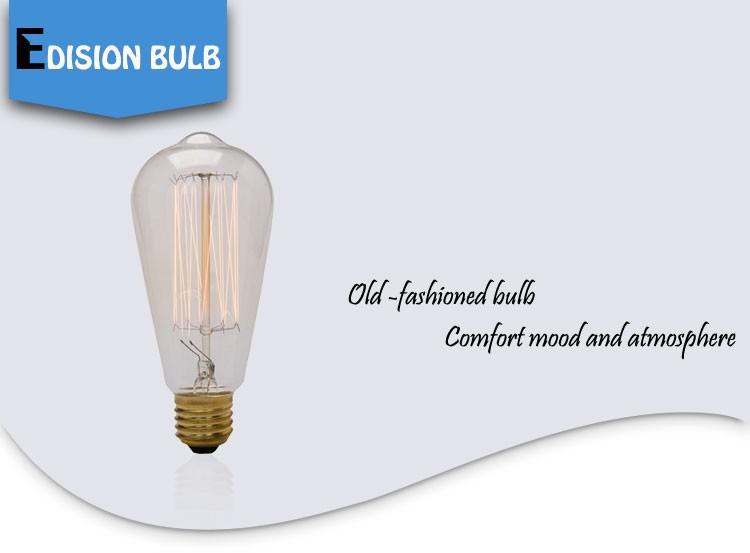 Vintage Decorative Edison Light Bulb E27 60w Retro Edison Bulb ...