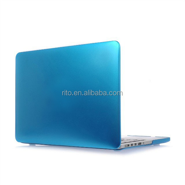 For Metal Protective Matte Computer Macbook Cover Pro 13 inch Retina, Plastic Rubberized Case For Macbook