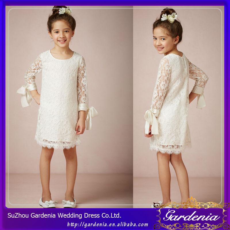 Vestidos Blancos Con Encaje Para Ninas Vestidos Elegantes