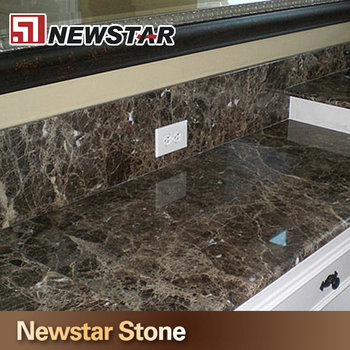 Awesome High Quality Made In China Emperador Dark Marble Countertop