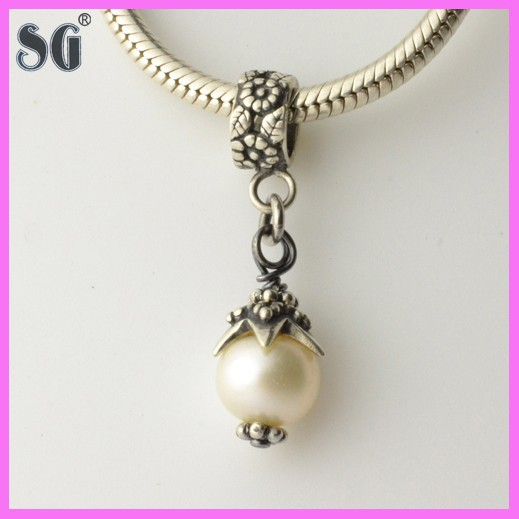 fashion 925 sun silver pendant jewelry with pearl