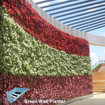 Vertical Garden Planters >> Sistem Hidup Dinding Nampan Vertikal Hanging Garden Planter