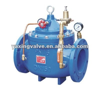 casing iron Sluice valve for reduce pressure