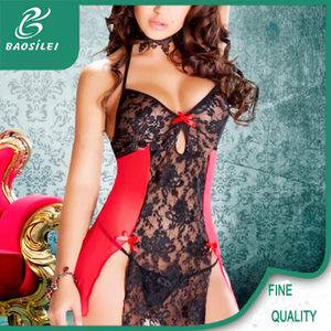 fancy design europe lingerie rose lace panties sexy nighty for women