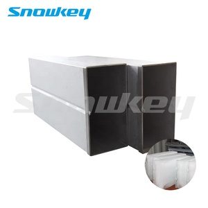 Snowkey High Quality Galvanized Steel Block Ice Can For Block Ice Machine