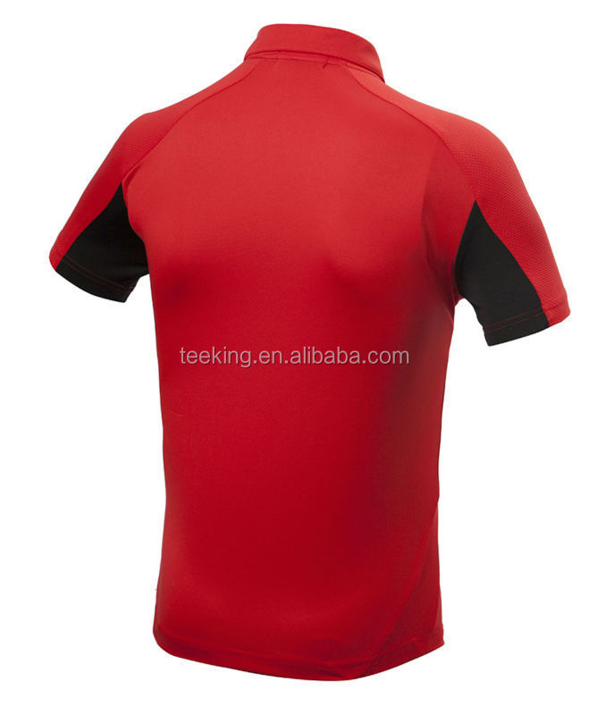 Custom 100 Polyester Dry Fit Mens Wholesale Golf Polo