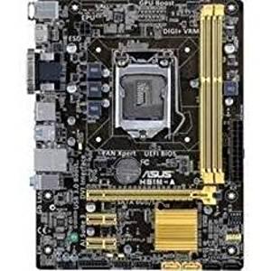Asus Motherboard H81M-A/C/SI Core i7/i5/i3 H81 LGA1150 16GB DDR3 PCI Express SATA USB microATX Brown Box