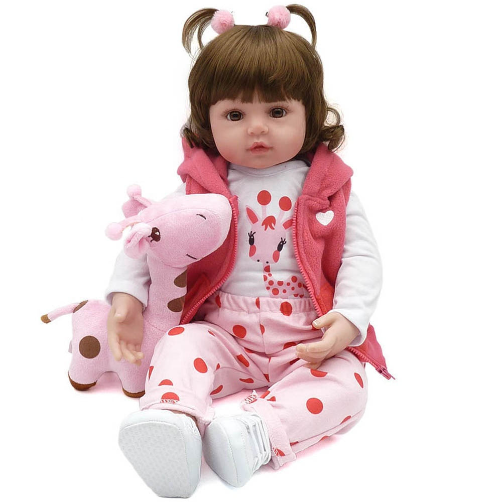 NPK <strong>DOLL</strong> 18inch 47cm reborn baby <strong>doll</strong> reborn kit bebe reborn silicone reborn <strong>dolls</strong>