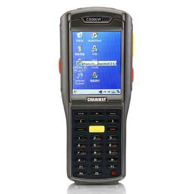 touch screen handheld pda with wifi bluetooth Chainway C5000 PDA with barcode scanner