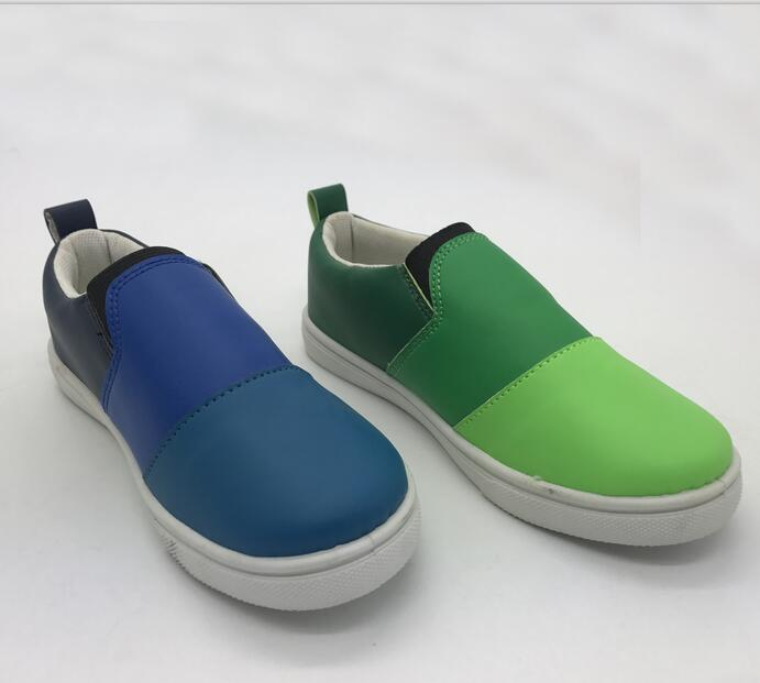 Cheap kids casual shoes slip-on footwear for sale