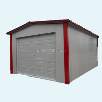 Sandwich Panel Steel Structure House As Garage