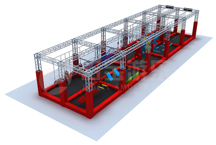 New design american eco-friendly adult obstacle courses games, children american ninja warrior equipment