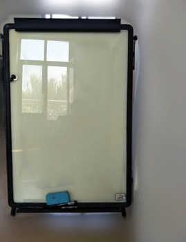 portable glass dry erase white board easels buy economic glass