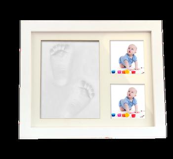 Baby Hand Print Handprint Footprint Photo Frame Baby And Family