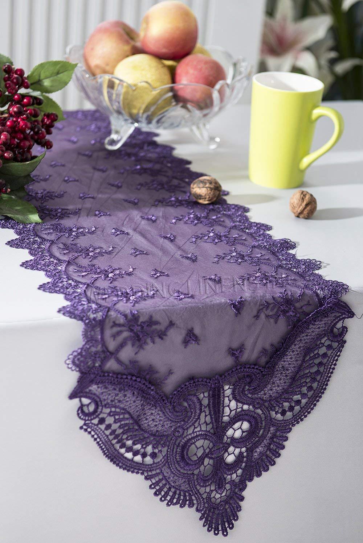 Cheap Dark Purple Table Runner, Find Dark Purple Table ...