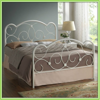 Luxury Design Low Price Queen Size Metal Bed