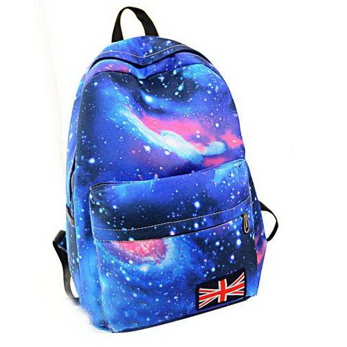 4f057896eb4e Мода школьные сумки для подростков звезды пространство вселенной печать  рюкзак школы книга рюкзаки британский флаг сумка бесплатная .