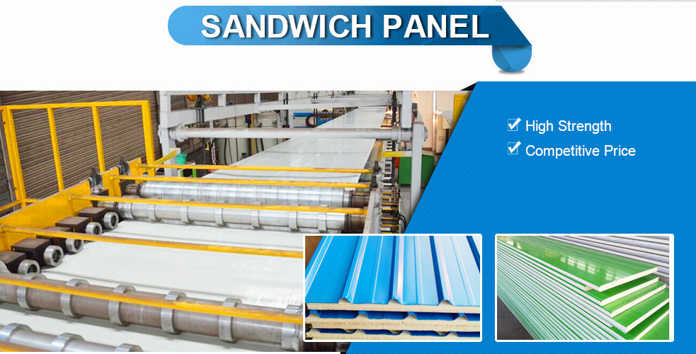 eps sandwich panel prefab house panel  wall and roof panel