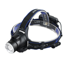 YJN3823 Telescopic Zoom T6 Led Hunting Head Lights Headlamp Wholesale