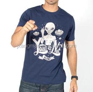 Oem custom print t shirt men 100% cotton china supplier