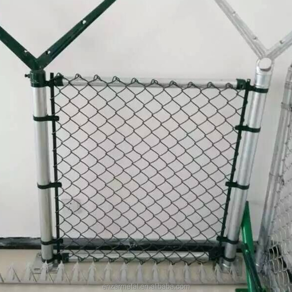 Chain Link Fence With Barbed Selvages, Chain Link Fence With Barbed ...