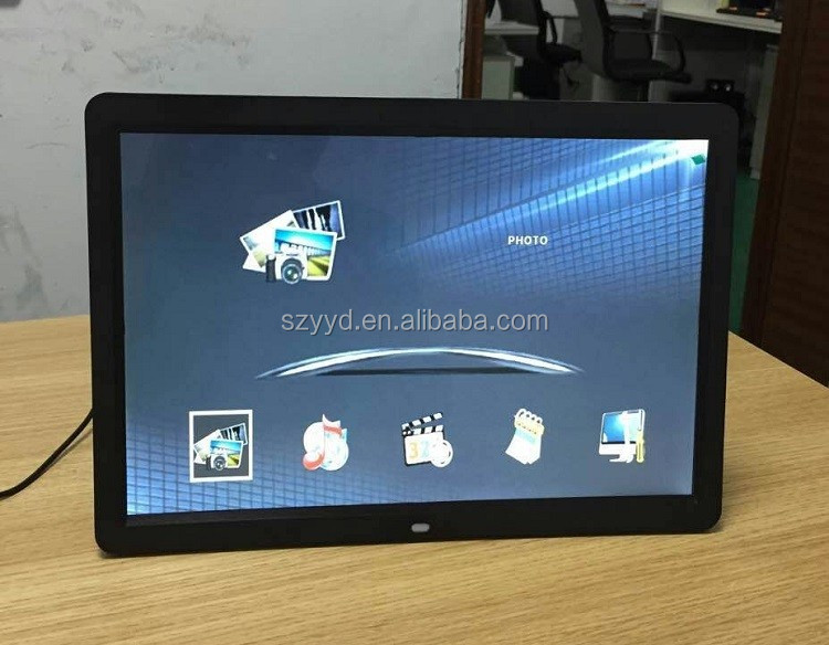 Large number of manufacturers supply 18.5 inch LED screen digital photo frame video player