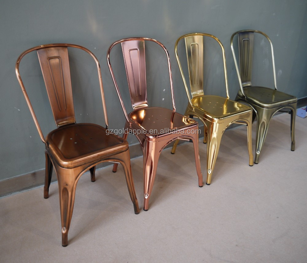 Retro Metal Chair Used For Dining Room Furniture Buy