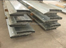 2015 structure factory galvanized steel z bar used building galvanized steel z bar