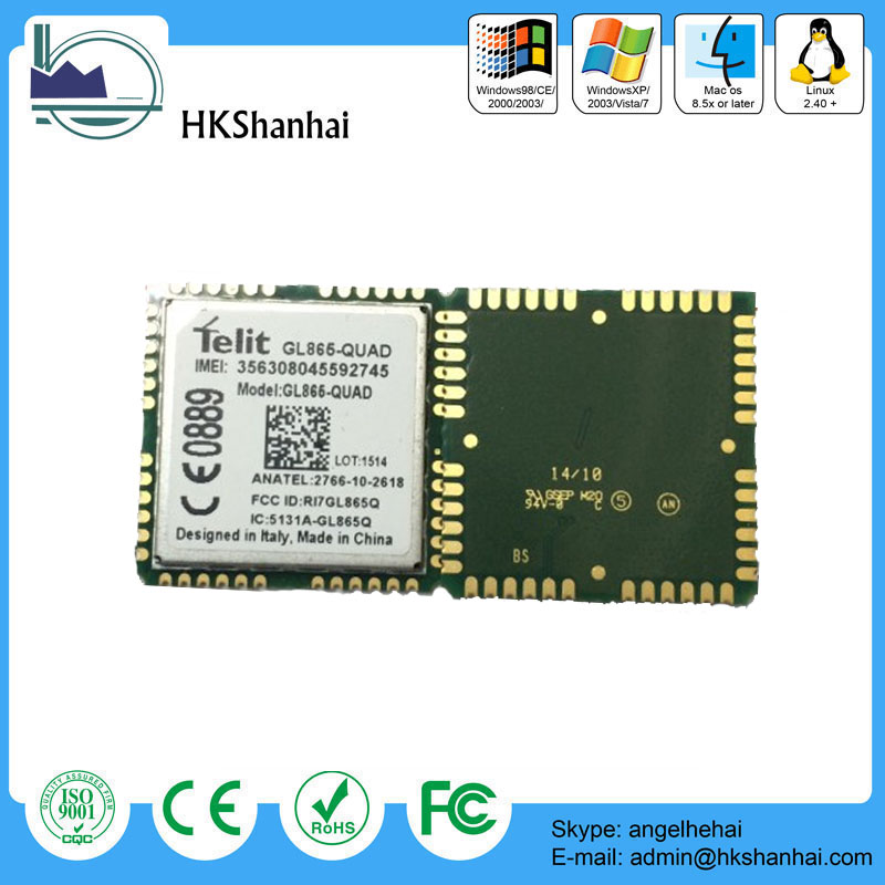 Hot offer embedded m2m locate telit gprs gsm module gl865-quad